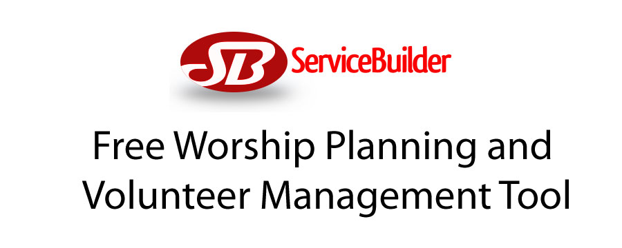 Free Worship Planning & Volunteer Management Tool